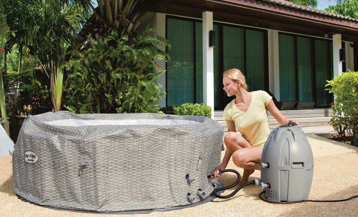 Lay-Z-Spa Honolulu AirJet Jacuzzi