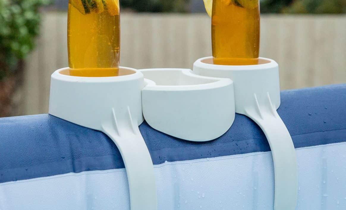 Drikkeholder fra Lay-Z-Spa boblebad