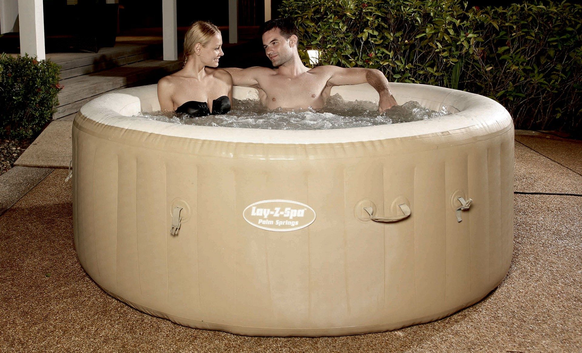 Lay-Z-Spa AirJet Palm Springs Jacuzzi